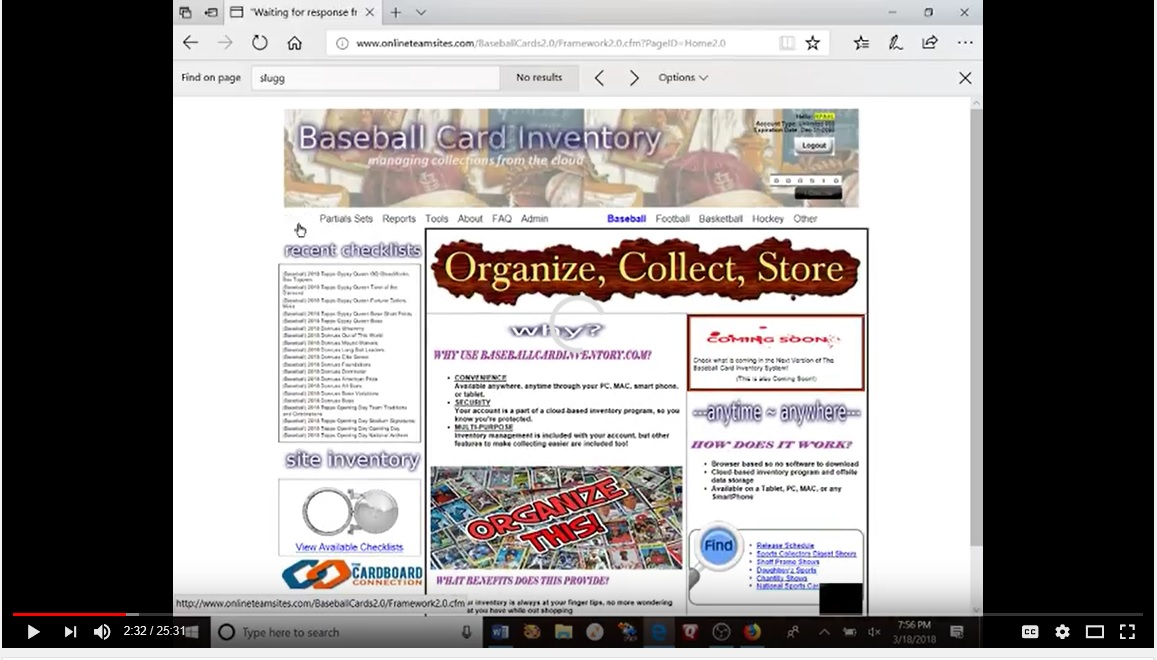 Sports Card Memorabilia Collectible Inventory Management